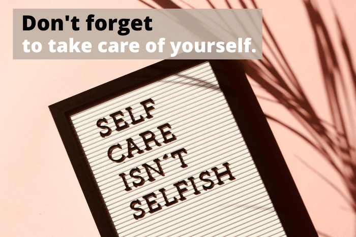 self care motivational quote