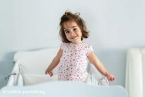 child waking up