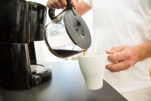 Bitter coffee from dirty coffee pot