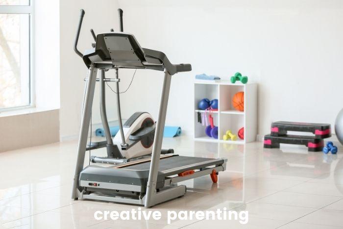 fight postpartum insomnia by running on treadmill